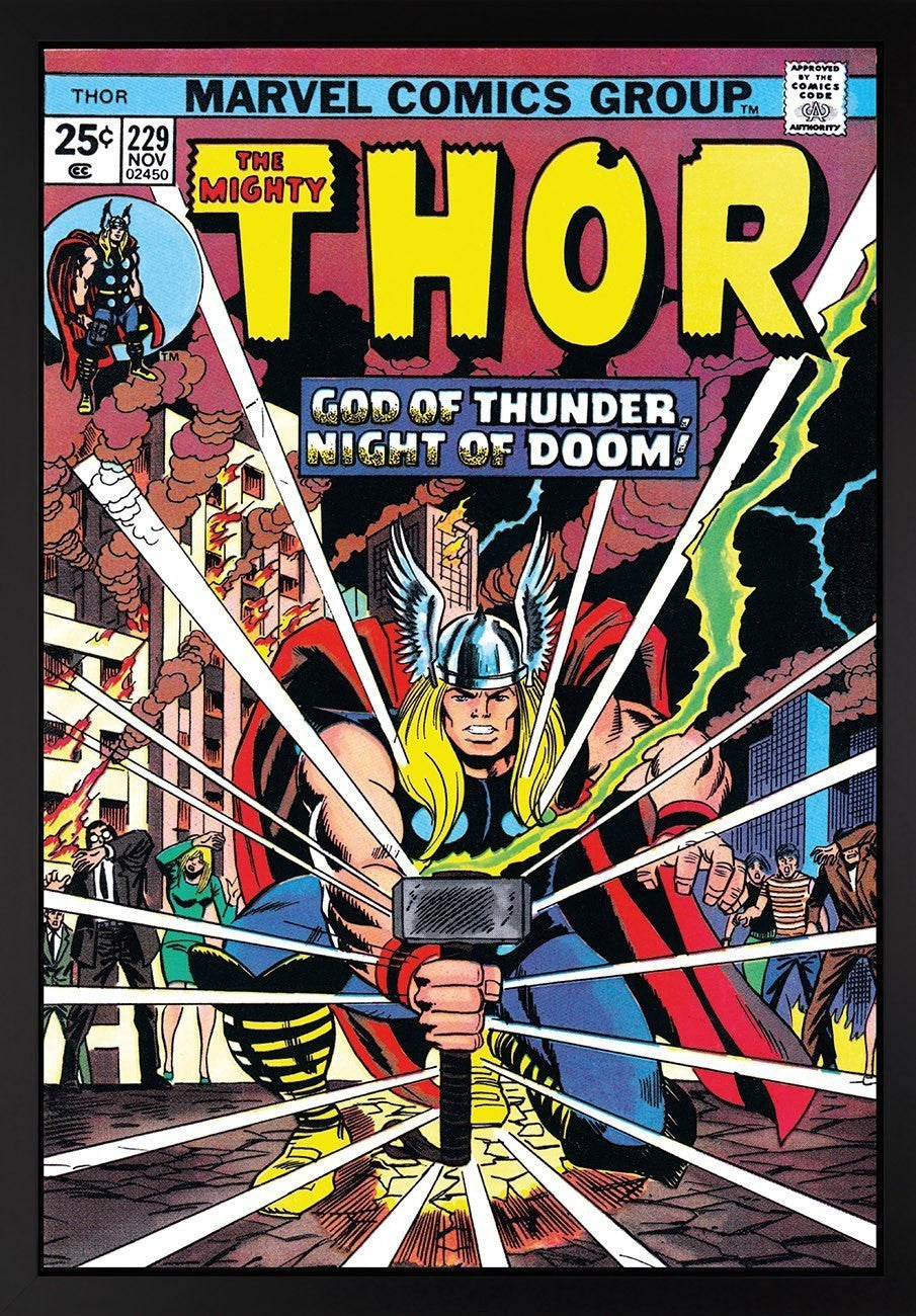 The Mighty Thor #229 - God of Thunder, Night of Doom! - SOLD OUT Stan Lee