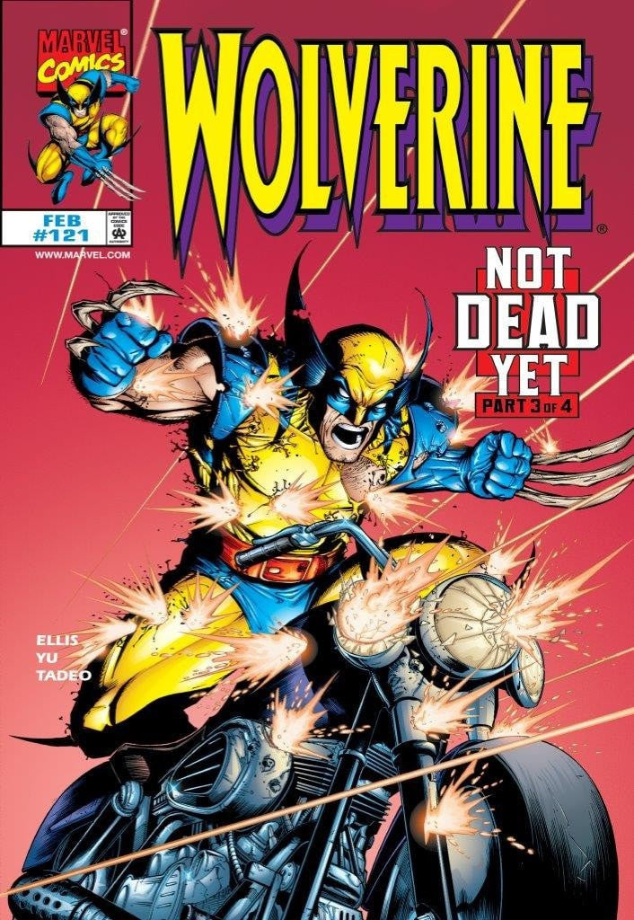 Wolverine #121 - Not Dead Yet - SOLD Stan Lee