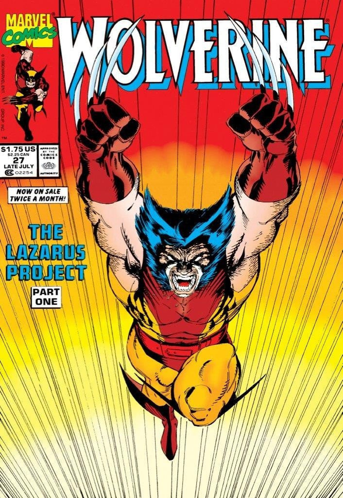 Wolverine #27 - The Lazarus Project Stan Lee