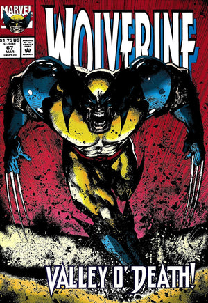Wolverine #67 - Valley O' Death! - RARE Stan Lee