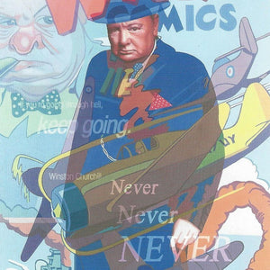 Never Give Up - Paper - SOLD OUT Stuart McAlpine Miller