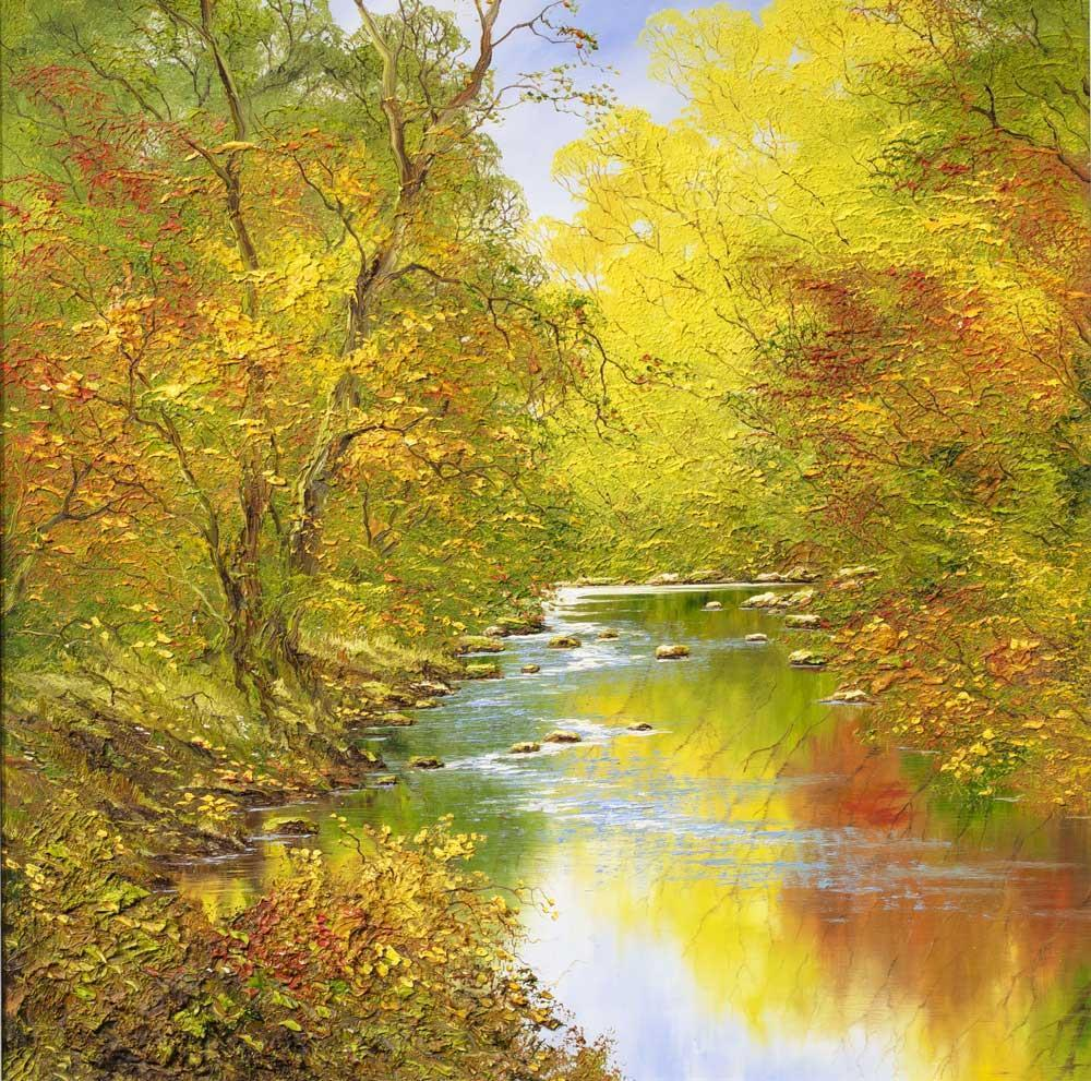 Autumn Reflections I Terry Evans Framed