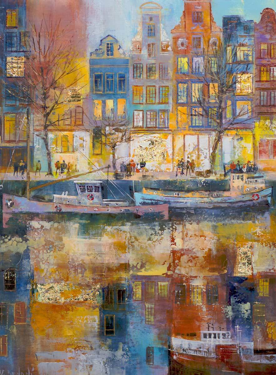 Along The Canal - Original Veronika Benoni