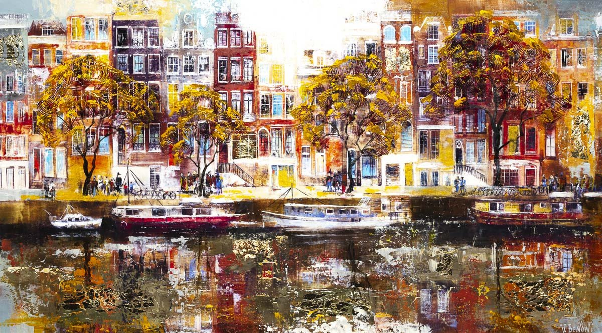 Amsterdam Reflections - Original