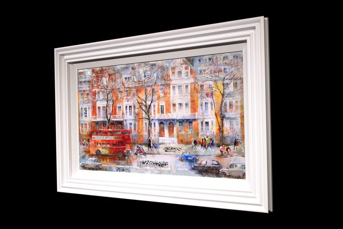 Busy in Battersea - Original - SOLD