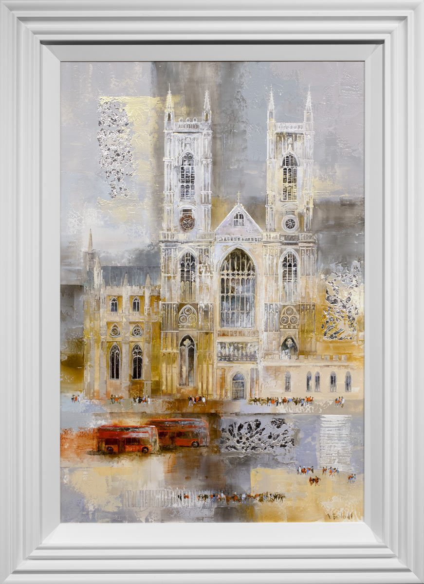Cathedral Calling - Original Veronika Benoni Framed