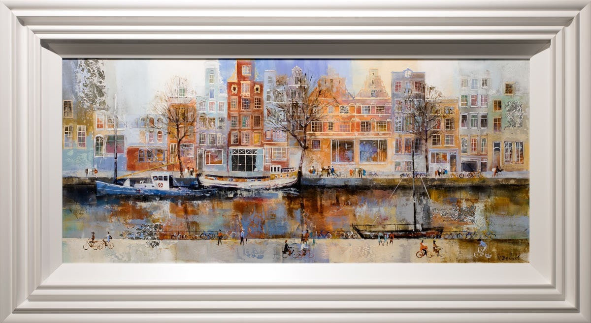 Evening in Amsterdam - SOLD Veronika Benoni