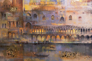 Evening Venice - Original Veronika Benoni