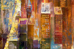 Manhattan Skyline - Original Veronika Benoni