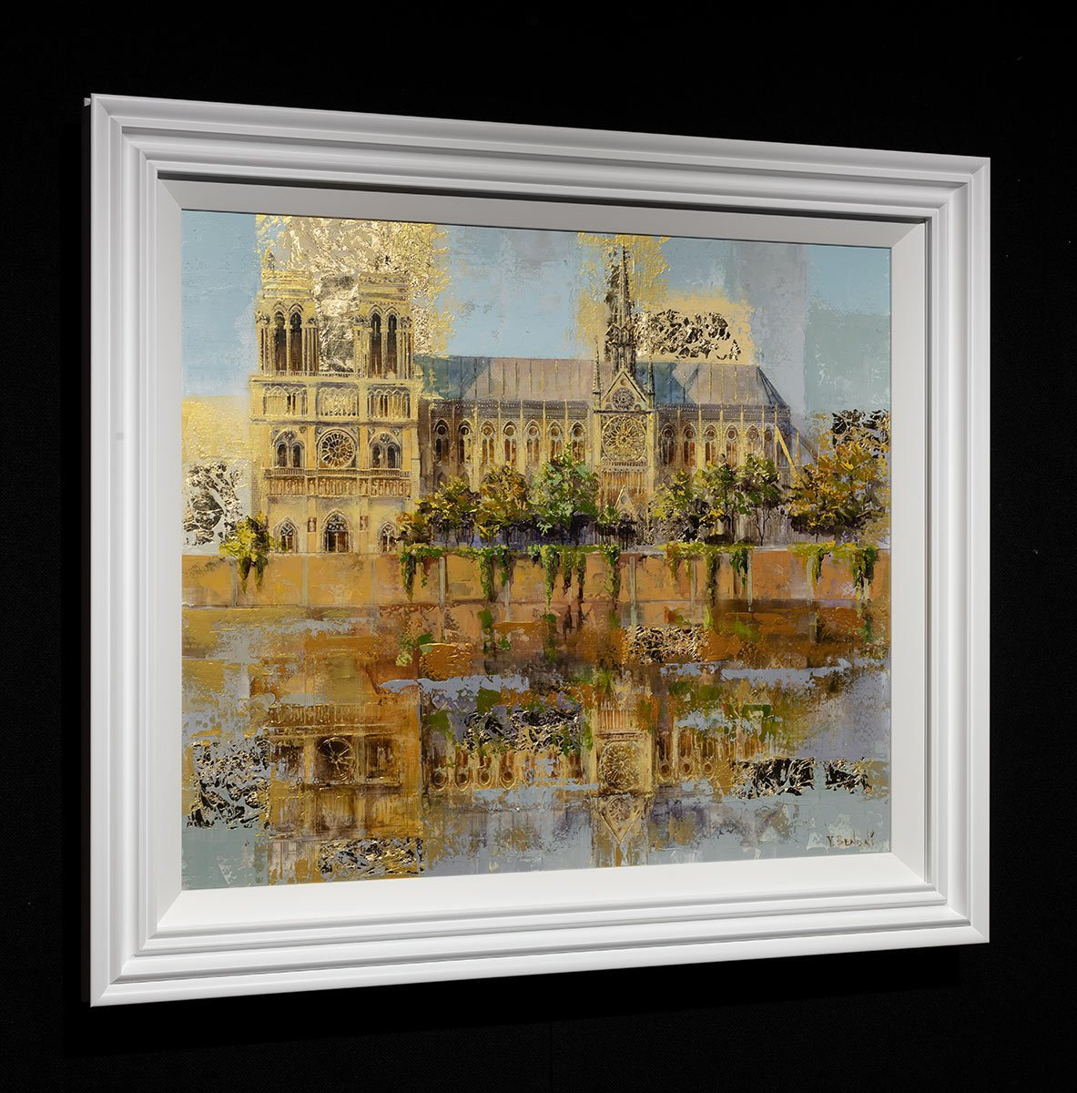 Notre Dame De Paris - Original Veronika Benoni Framed