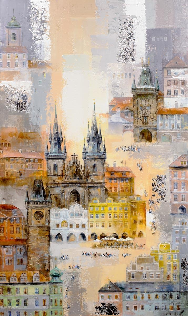 Prague Dawn Veronika Benoni