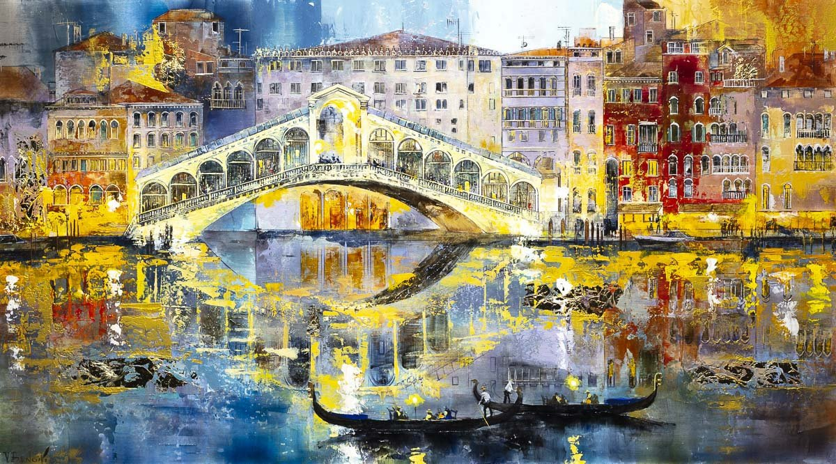 Rialto Bridge, Venice - Original - SOLD