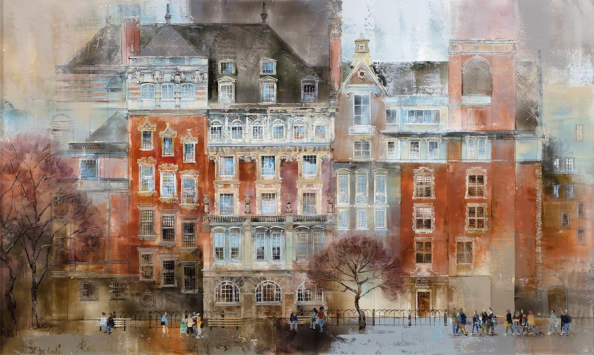 Stroll Through Westminster - Original Veronika Benoni