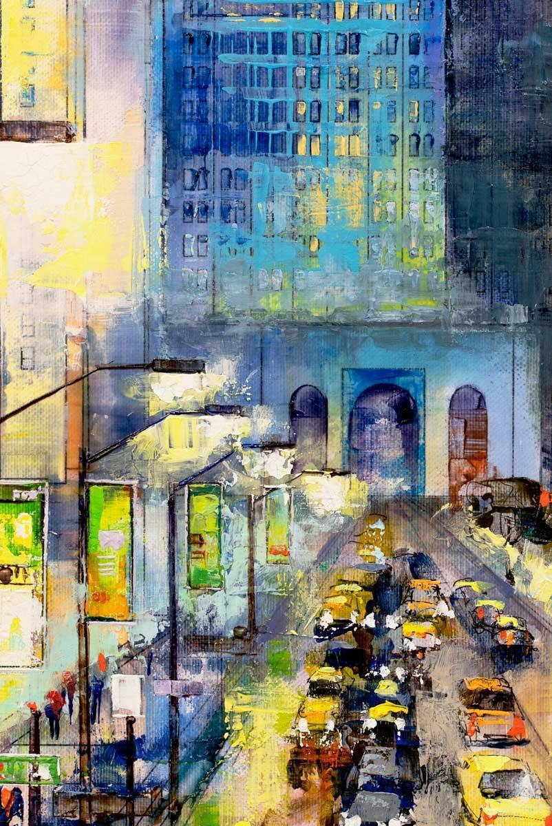 New York By Night - Original - SOLD