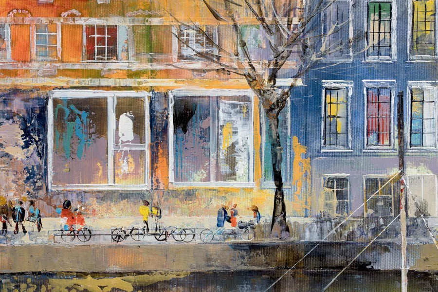 Upon The Canal - Original Veronika Benoni