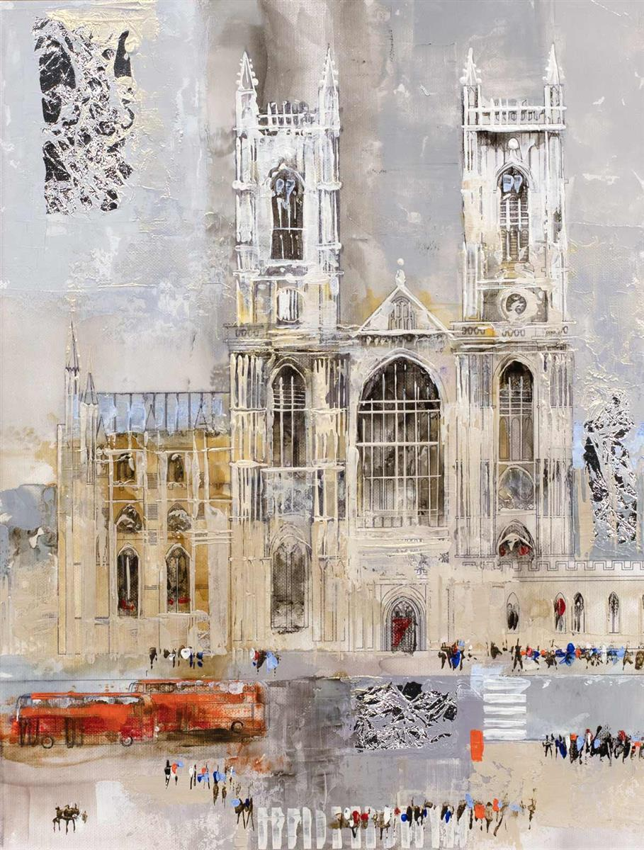 Westminster Abbey Veronika Benoni Framed