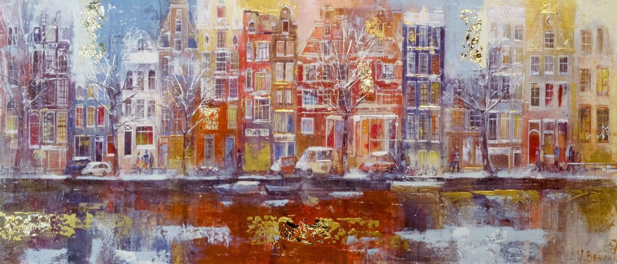 Winter Amsterdam - Original Veronika Benoni