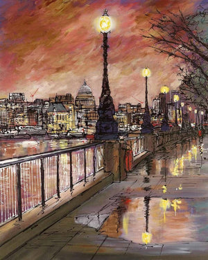 Southbank - SOLD Wyecliffe Original Art