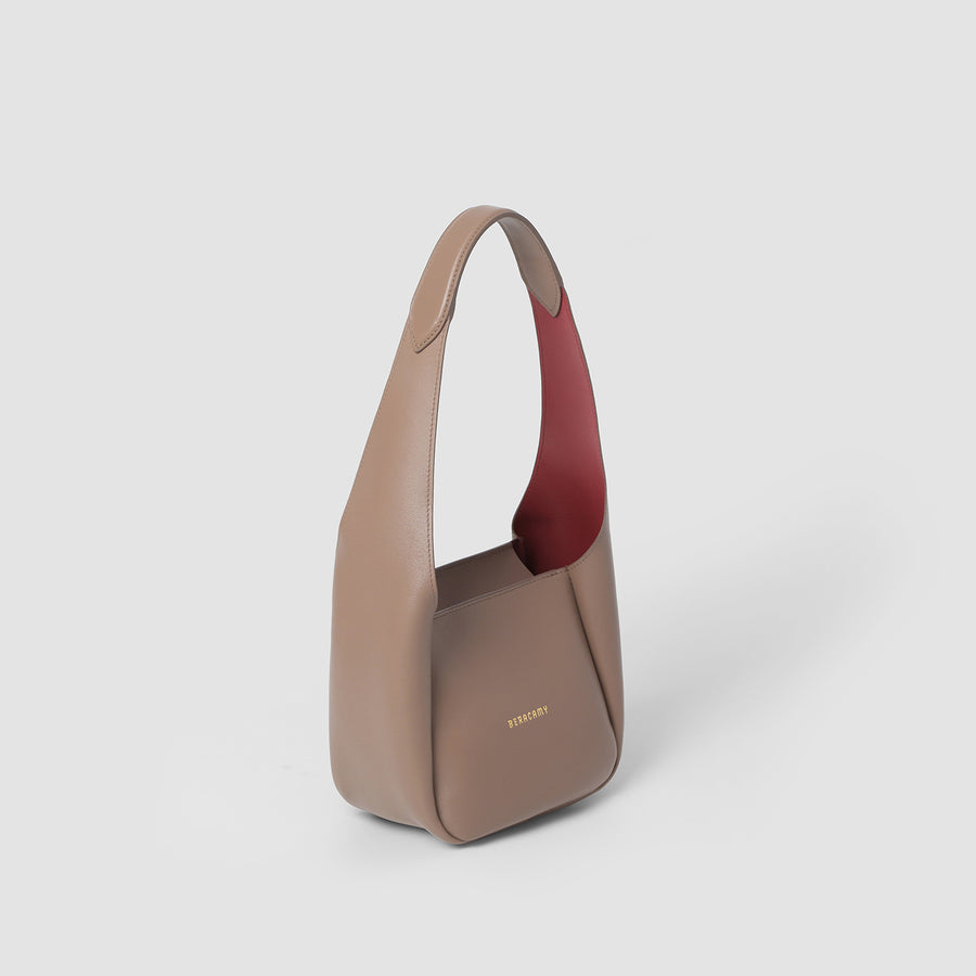 MAIJA Small Tote - Grey Khaki