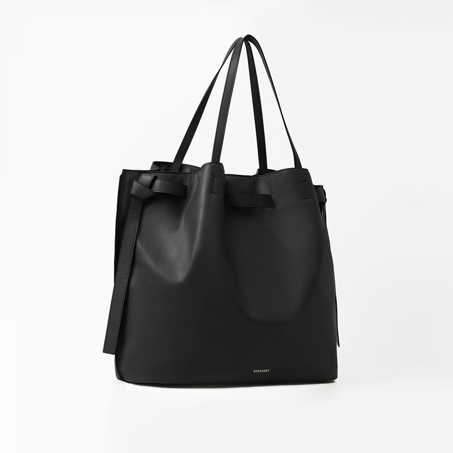 JHENNA Knot Large Tote Noeud - Noir