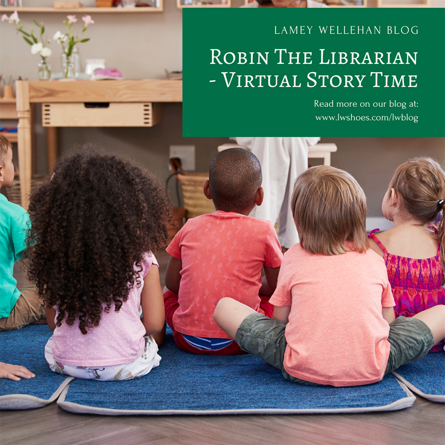 Robin The Librarian – Virtual Story Time