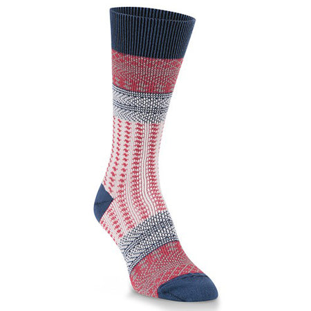 WORLDS SOFTEST CANDY CREW SOCK AMERICANA