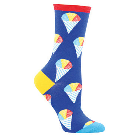 SOCKSMITH HAVE AN ICE DAY BLUE CREW SOCK