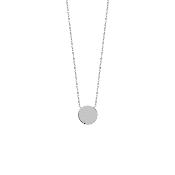COLLIER ROND ARGENT 925