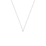 COLLIER DIAMANT ARGENT 925