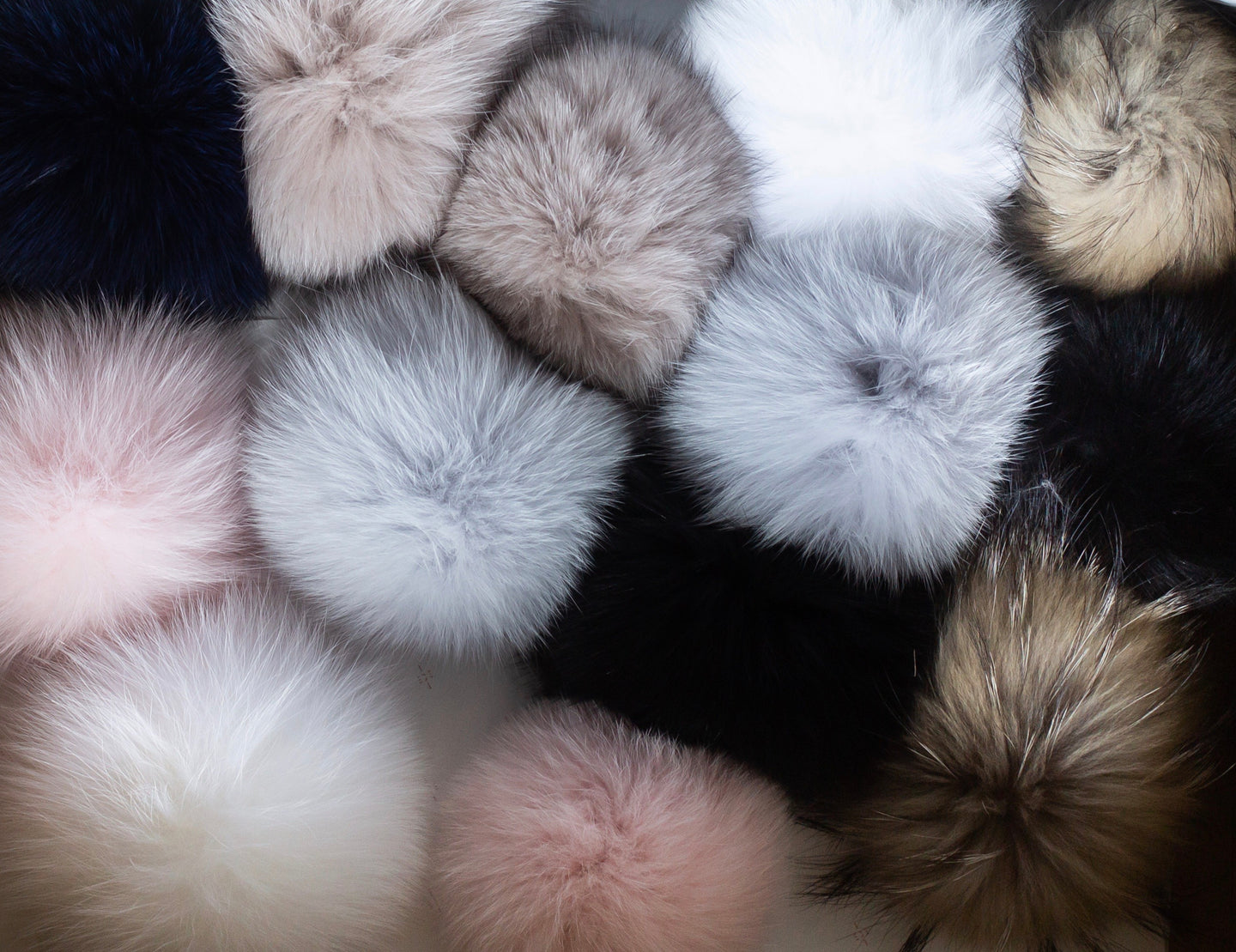 Luxe Fur Pompoms