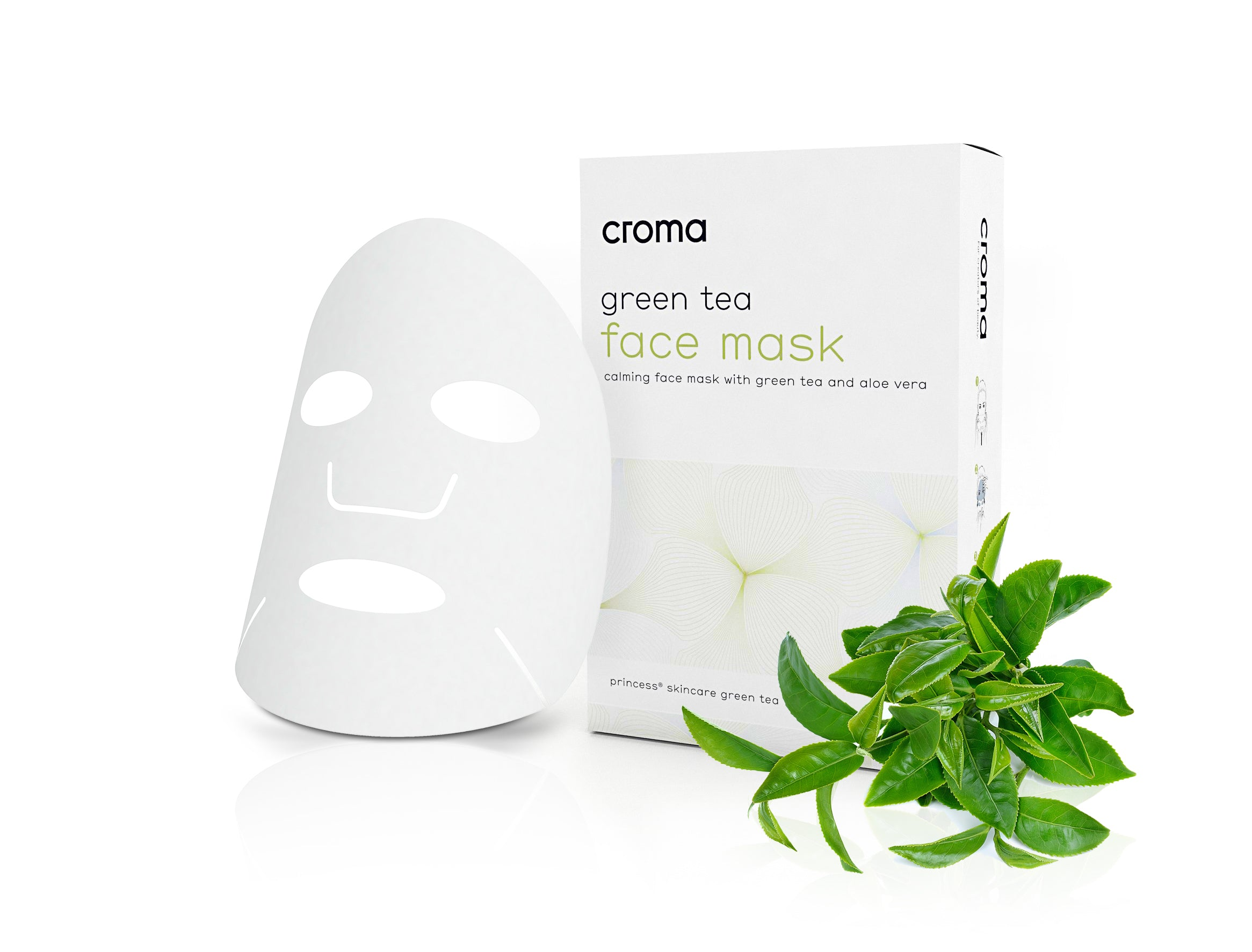 Croma - Green Tea Face Mask (8 pack)