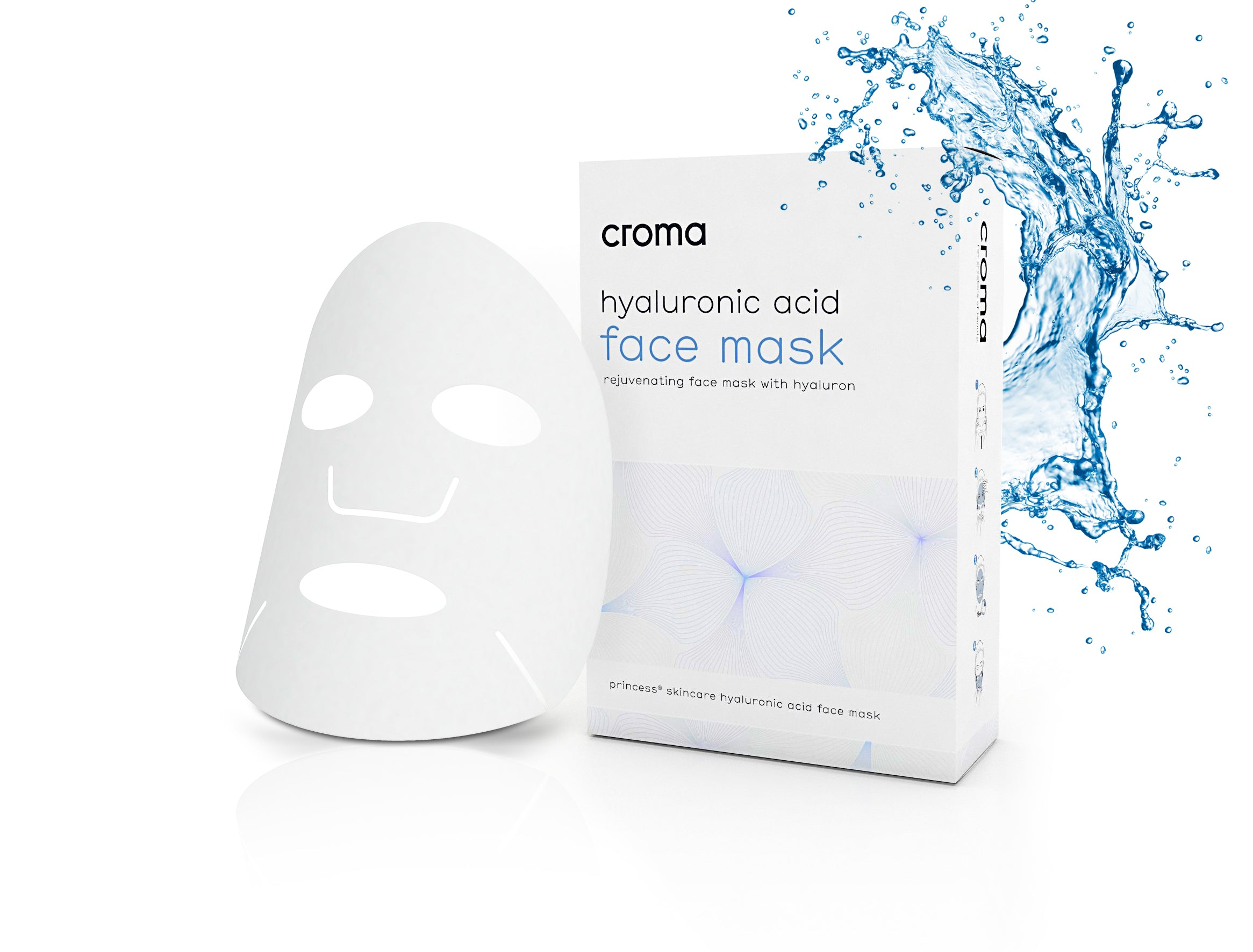Croma - Hyaluronic Acid Face Mask (8 pack)