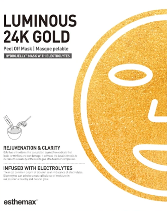 Esthemax - Luminous 24K Gold - Hydro Jelly Mask