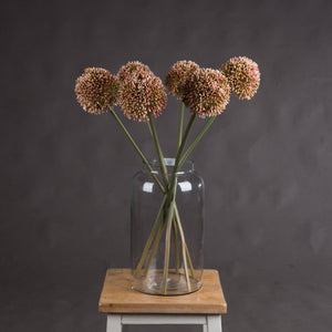 Pink Allium Faux Flower
