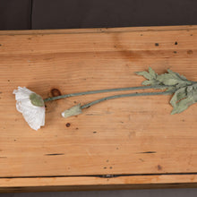 Load image into Gallery viewer, Heirloom Pepperbox Poppy Faux Flower