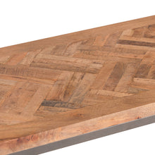 Load image into Gallery viewer, Hoxton Wooden Parquet Top Console Table