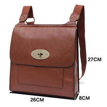 Load image into Gallery viewer, brown-leather-cross-body-bag