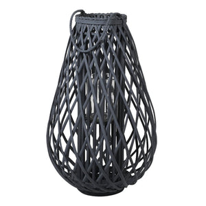 Dark Grey Willow Lantern