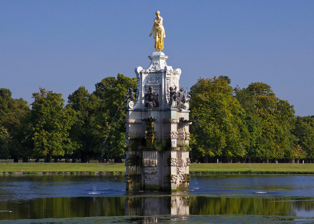 The Diana Fountain in Bushy Park Greeting Card
