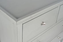 Load image into Gallery viewer, Vendee Grey Wooden Four Draw Unit