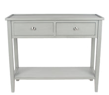Load image into Gallery viewer, Vendee Grey Wood Console Table