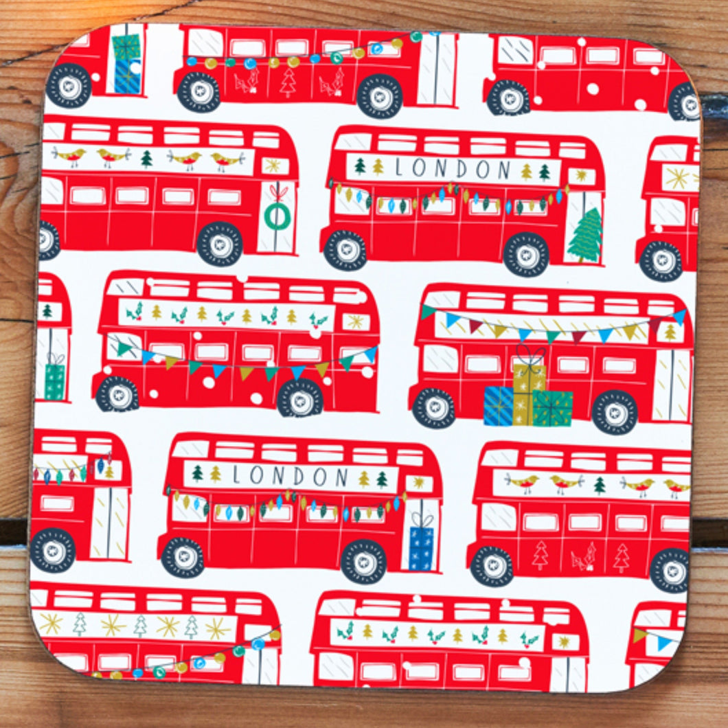 London Buses Winter Coaster
