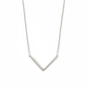 Clean V Necklace
