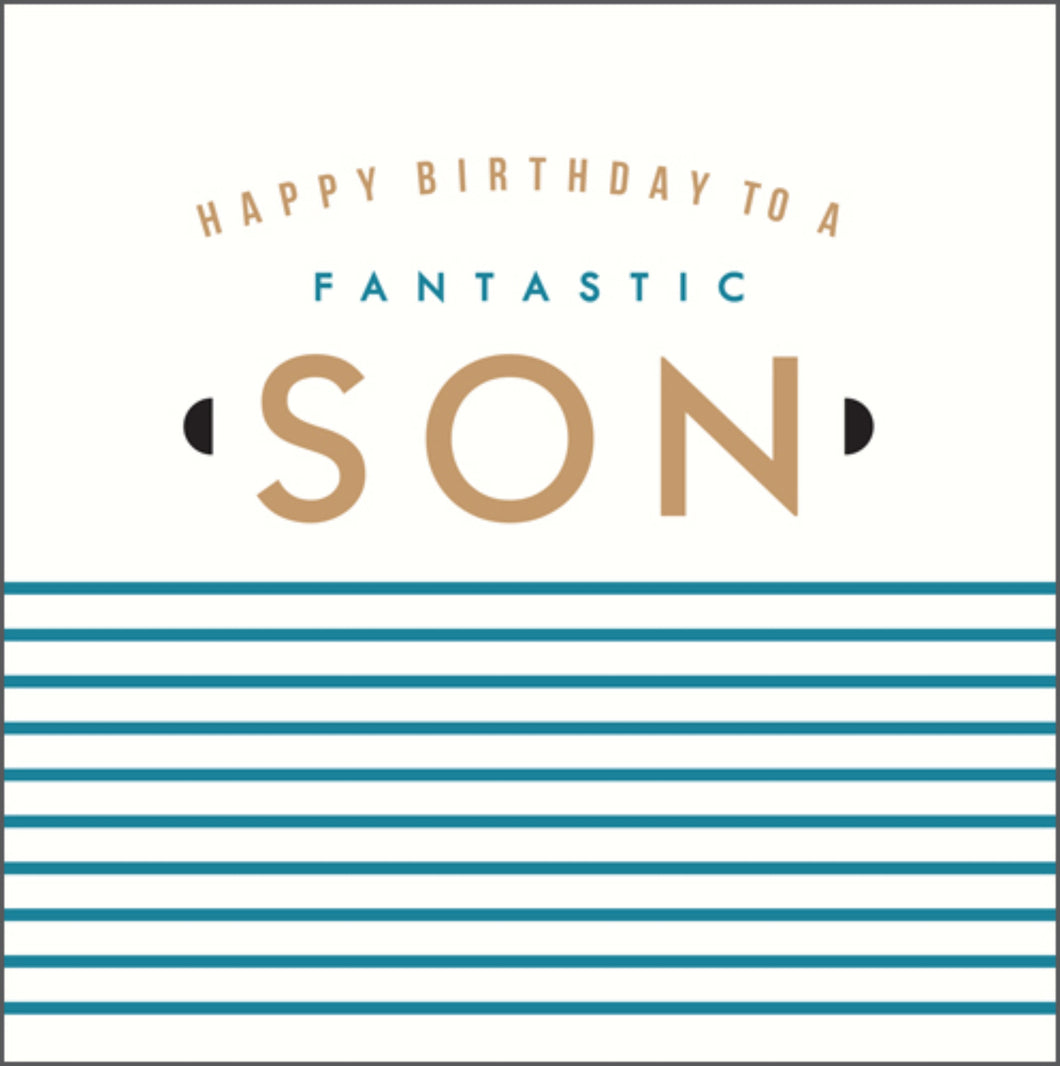 Fantastic Son, Birthday card