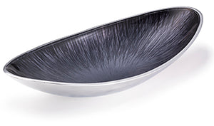 Recycled Aluminium Oval Bowl - Large
