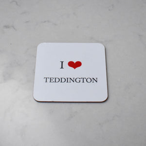 i love teddington coaster