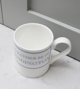 I'd Rather Be In Teddington Bone China Mug