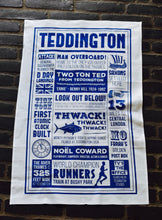 Load image into Gallery viewer, A Celebration of Teddington Tea Towel