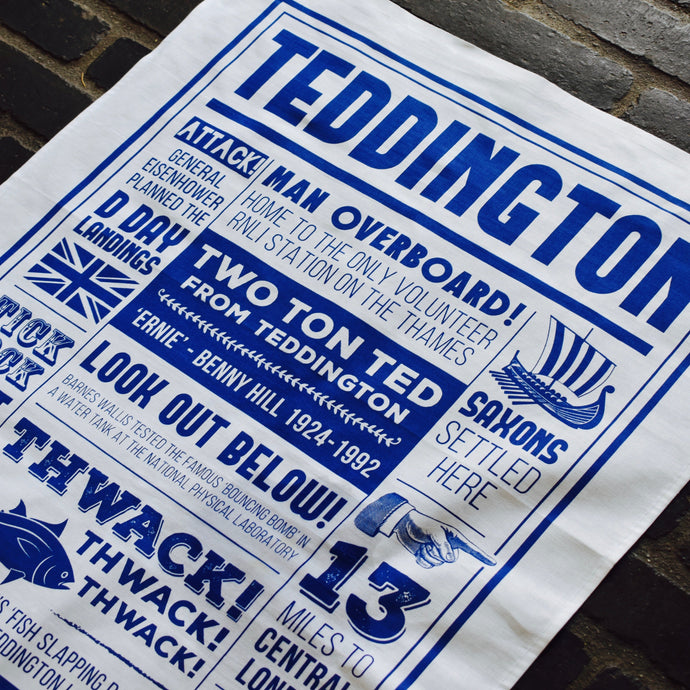 Teddington Tea Towel