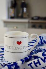 Load image into Gallery viewer, I Heart Teddington Bone China Mug